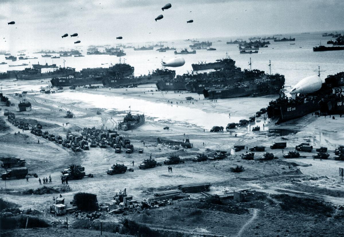 Il 6 giugno 1944, alle ore 6:30, avviene lo Sbarco in Normandia