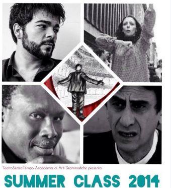 Summer Class 2014, tutte le iniziative estive del TeatroSenzaTempo