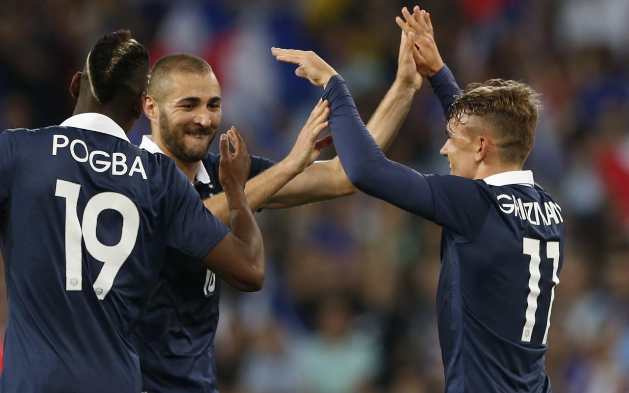 Buona la prima per la Francia: 3-0 all'Honduras