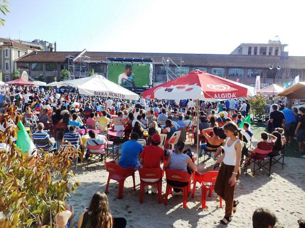 Wonderwalls Art & Music: un week end speciale sulla spiaggia della Fabbrica del Vapore