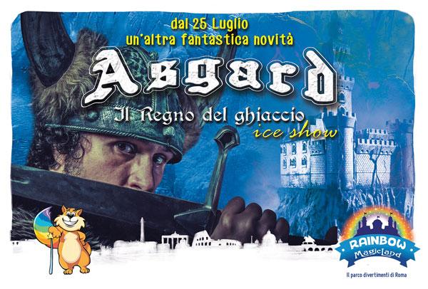 Rainbow Magicland: arriva Asgard, il regno del ghiaccio un nuovo avvincente spettacolo