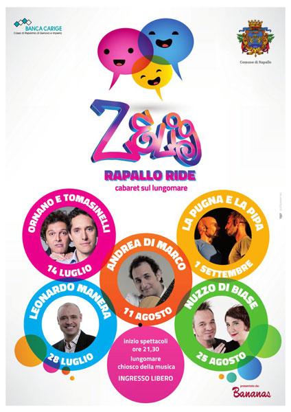 Rapallo Ride: Rassegna estiva di cabaret – Iª Edizione 2014