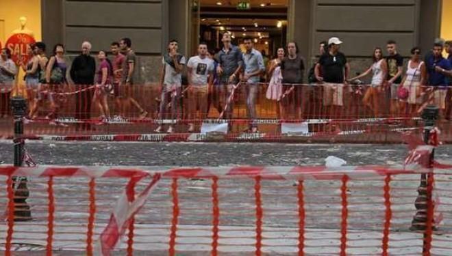 Napoli: Galleria Umberto in gabbia dopo la morte di Salvatore…