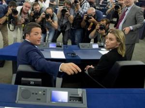 renzi-mogherini-nessuna-crisi-italia-germania