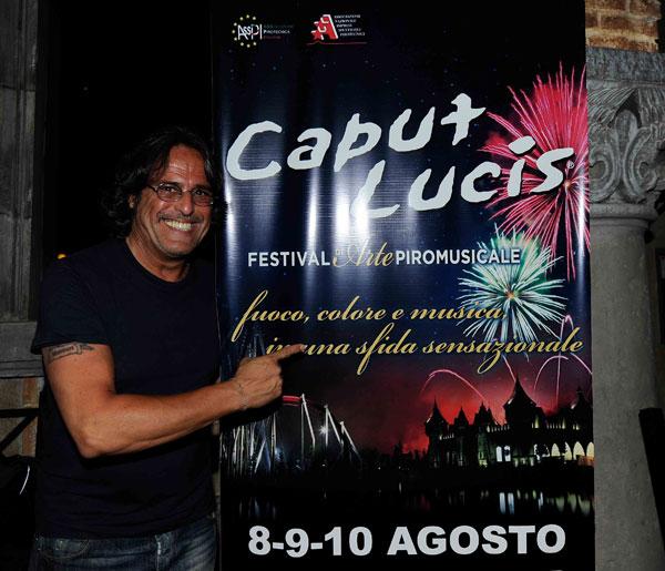 """Con lo spettacolo """"Postumus, magia di musica e fuochi"""" Raffaele's Fireworks vince l'edizione 2014 di """"Caput Lucis"""""""