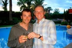 Ivan Basso e Oleg Tinkov
