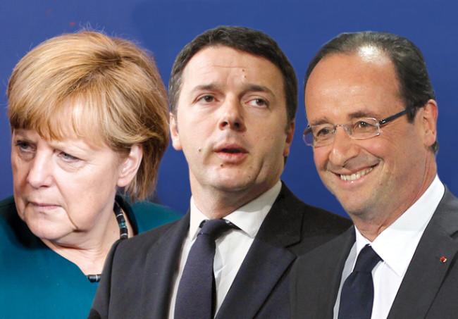 Italia Germania e Francia sono in fase di stagnazione