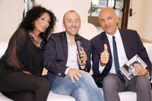 M. E. Di Gian Domenico con Arianna Di Tommaso e Gianluca Marchesani