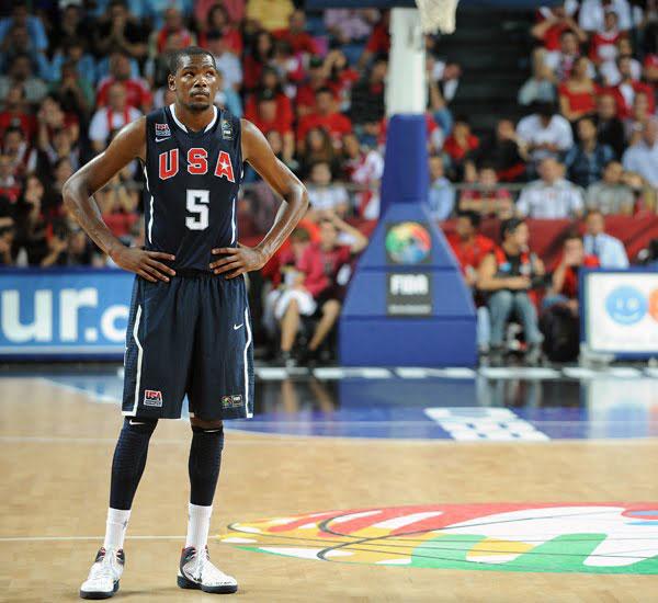 Basket NBA: Durant non parteciperà ai mondiali FIBA