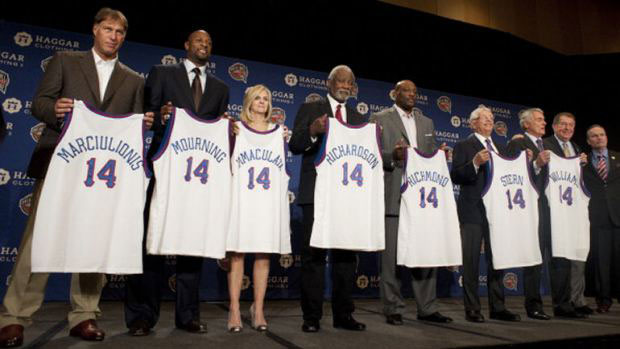 La classe 2014 della Naismith Memorial Basketball Hall of Fame