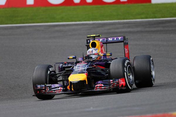GP Belgio: Ricciardo domina, poi Rosberg e Bottas. Grande gara di Kimi Raikkonen