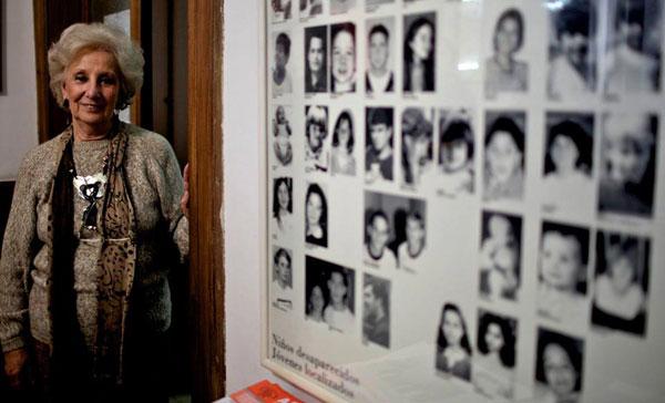 Argentina: la presidente delle Nonne di Plaza de Mayo ritrova suo nipote