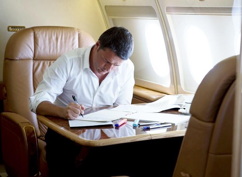 Renzi vola a Baghdad