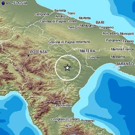 Terremoto in Basilicata, 18 scosse in 2 giorni