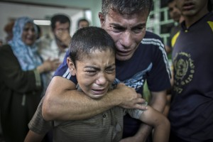 Image: At least 16 killed, among them seven children, in UN-run school