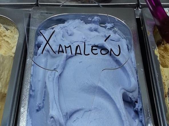 La novità dell'estate arriva dalla Spagna: il gelato camaleonte