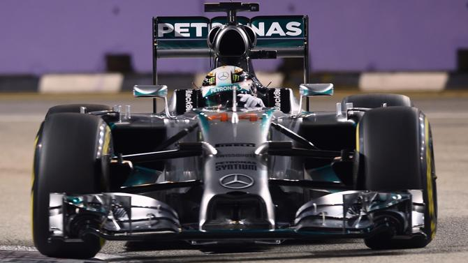 Gp Singapore: Hamilton domina, Alonso buon 4°