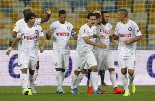Europa League: D'Ambrosio regala all'Inter la vittoria sul Dnipro