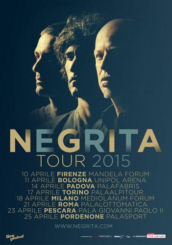 NEGRITA 2015: otto palazzetti, otto shows, infinite emozioni!