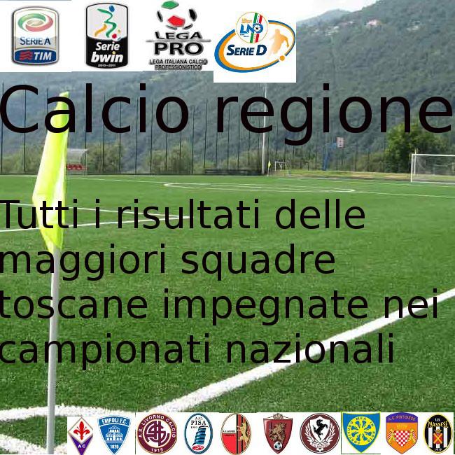 Calcio toscano: bene la Lega pro, male le serie maggiori
