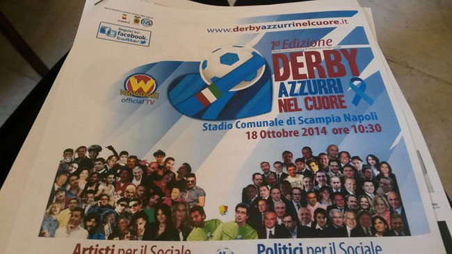 A Scampia la I edizione del Derby azzurri nel cuore