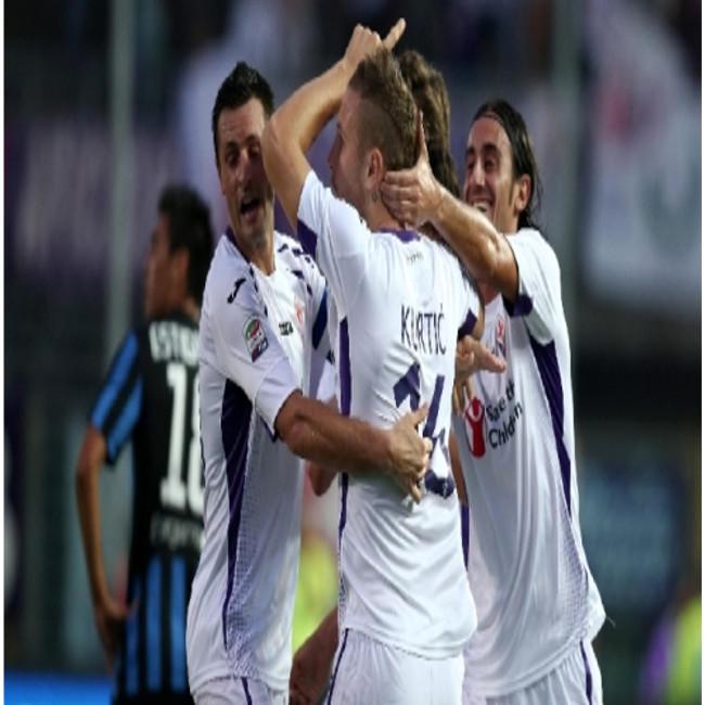 La Fiorentina batte di misura una buona Atalanta con il gol di Kurtic