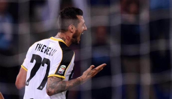 La Lazio perde ancora, Thereau regala tre punti all'Udinese