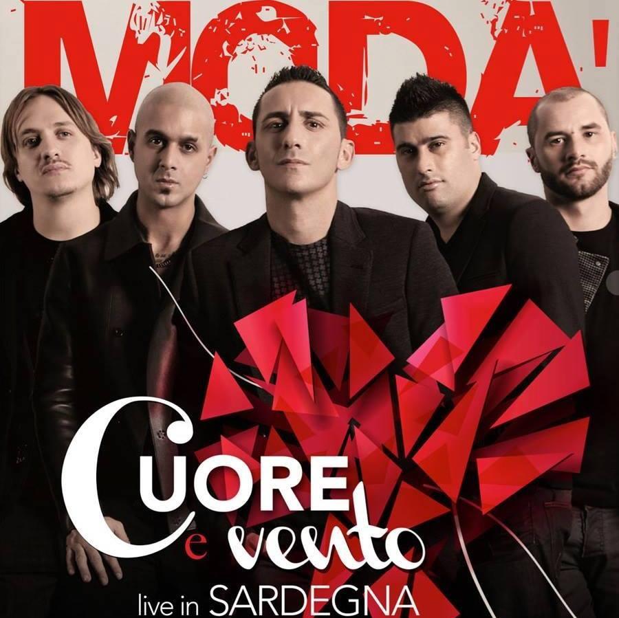 Cuore e vento Live in Sardegna: per i Modà è doppio sold out