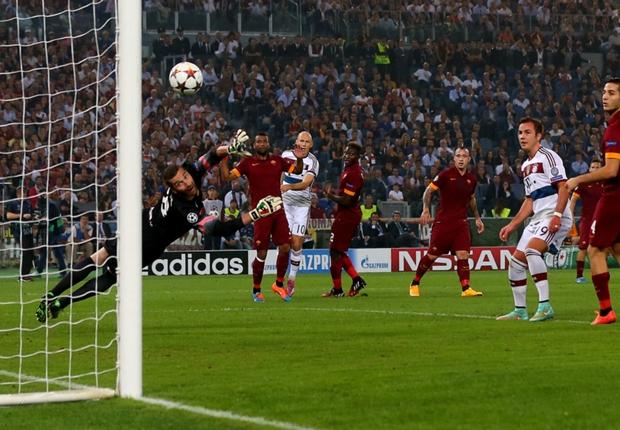 Incubo Roma: il Bayer Monaco travolge i giallorossi 7-1