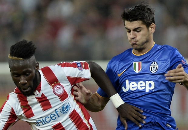 Dramma greco:l'Olympiakos batte 1-0 la Juventus