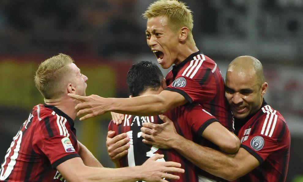 Milan – Chievo 2-0, decidono Muntari e Honda