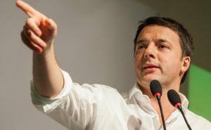Matteo Renzi in Sardegna per sostenere il candidato del PD Francesco Pigliaru