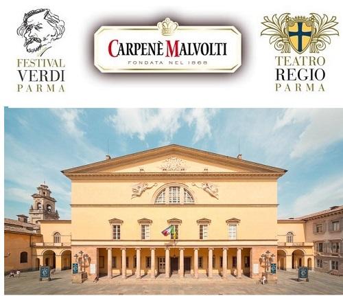 Festival Verdi: Carpenè Malvolti rinnova la partnership con il Teatro Regio di Parma