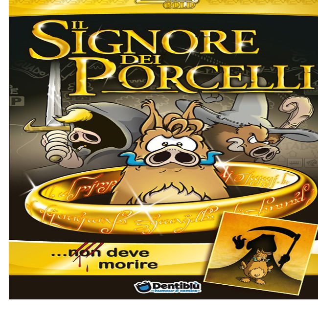Dentiblù presenta il fantasy-umoristico al 'Lucca Comics & Games'