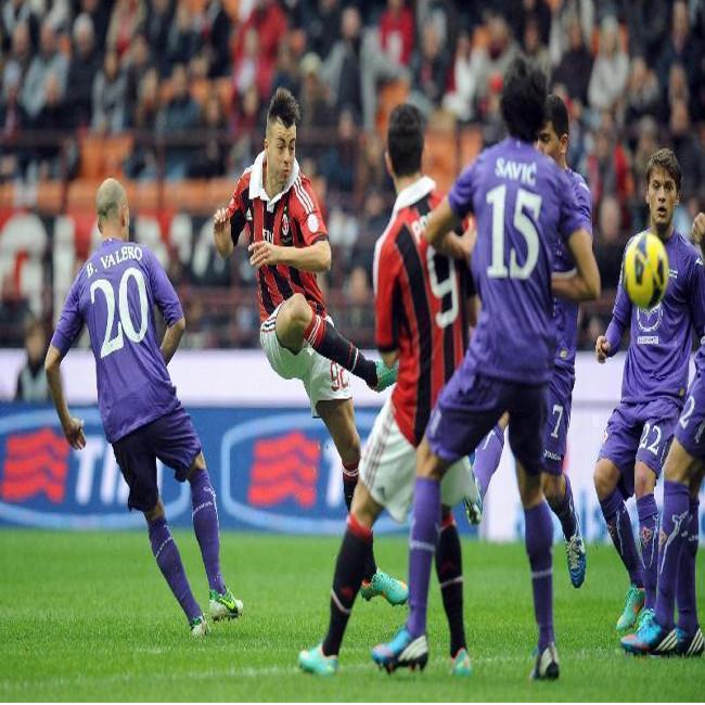 Milan e Fiorentina pareggiano al Meazza