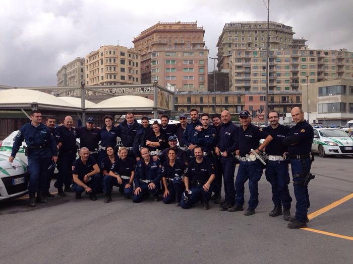 Rientrati da Genova i 25 agenti che hanno soccorso gli alluvionati