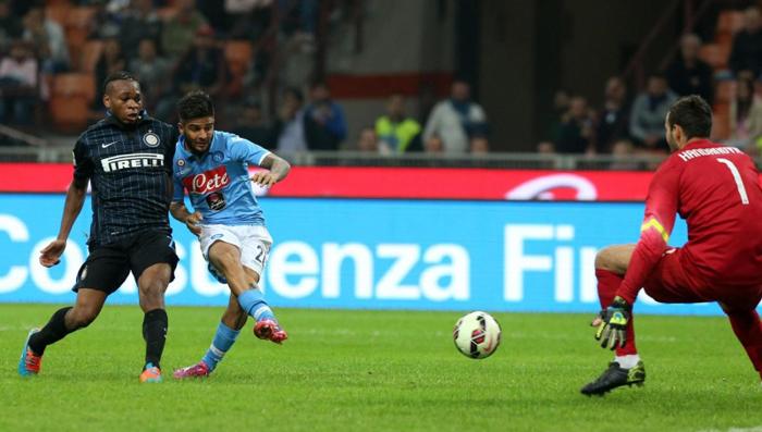 Inter – Napoli  2 – 2  I nerazzurri in rincorsa per il pareggio