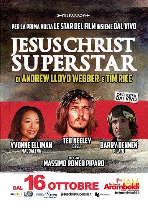 Jesus Christ Superstar, arriva al Teatro degli Arcimboldi di Milano