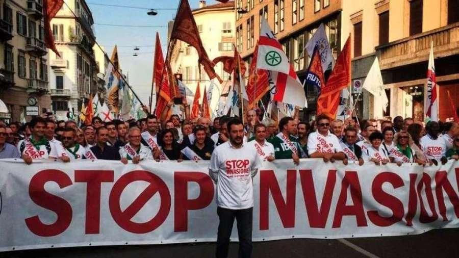 Milano: dopo Asem, manifestazione Lega e Casa Pound vs Centri Sociali. La curia scomunica la lega