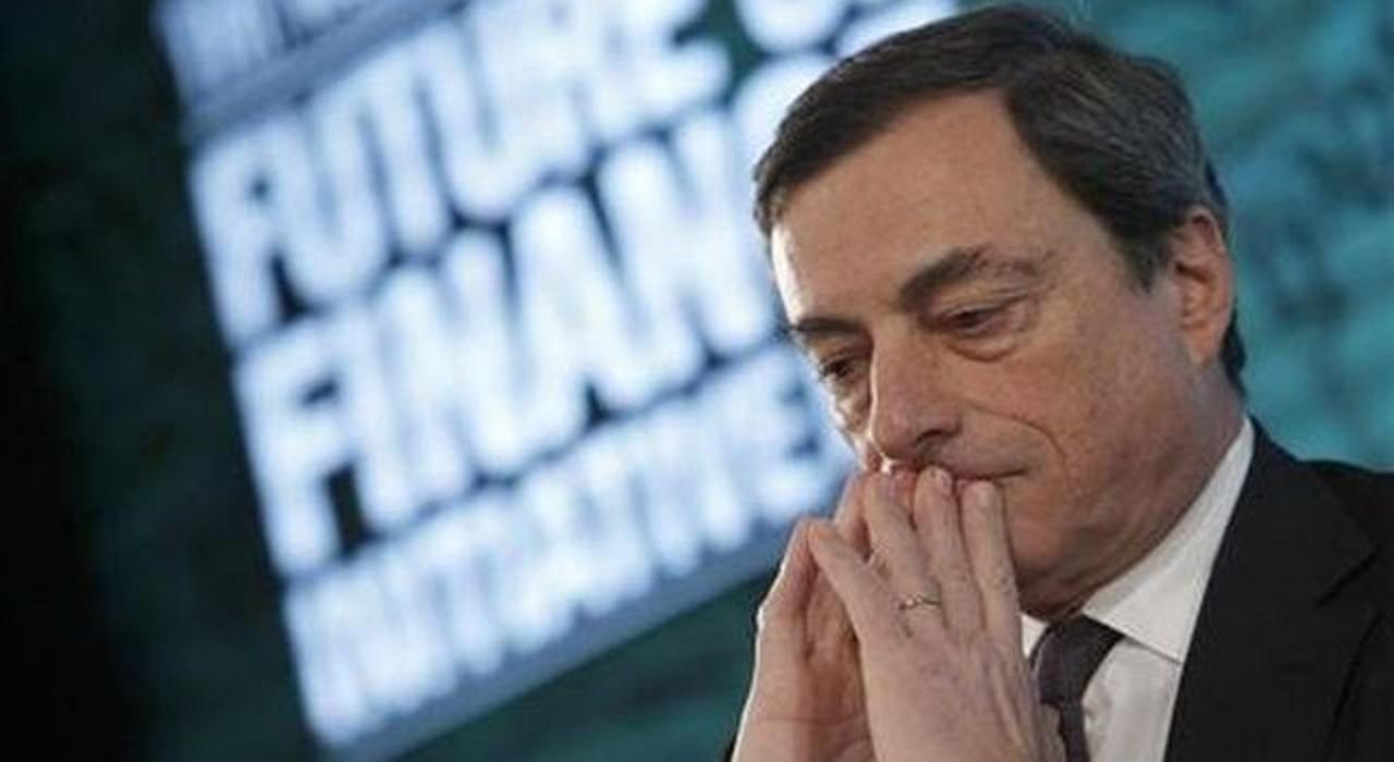 Draghi non convince, le Borse europee crollano
