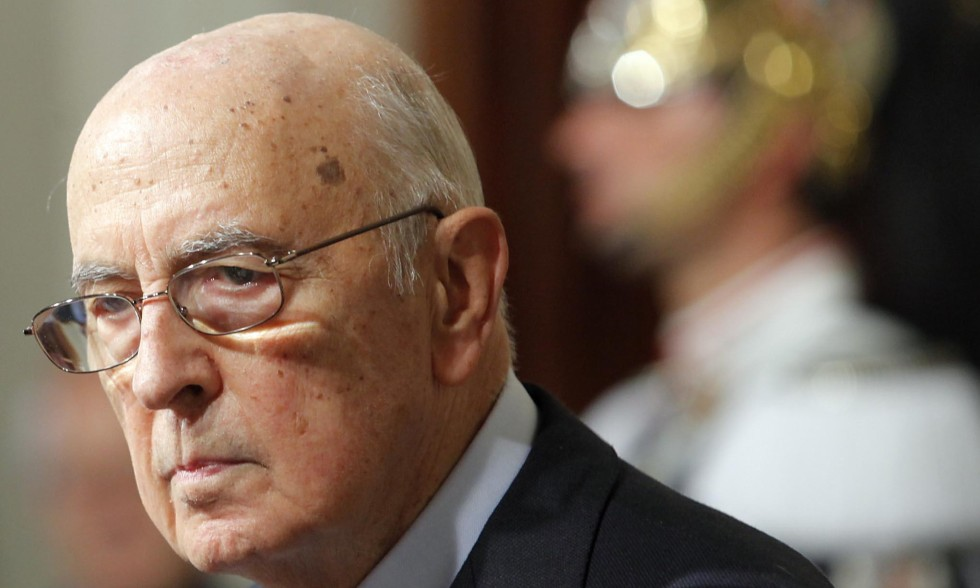 Napolitano lascerà il Colle, attese per domani le dimissioni
