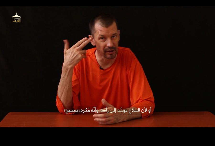 ISIS: in rete il quinto video con l'ostaggio John Cantlie