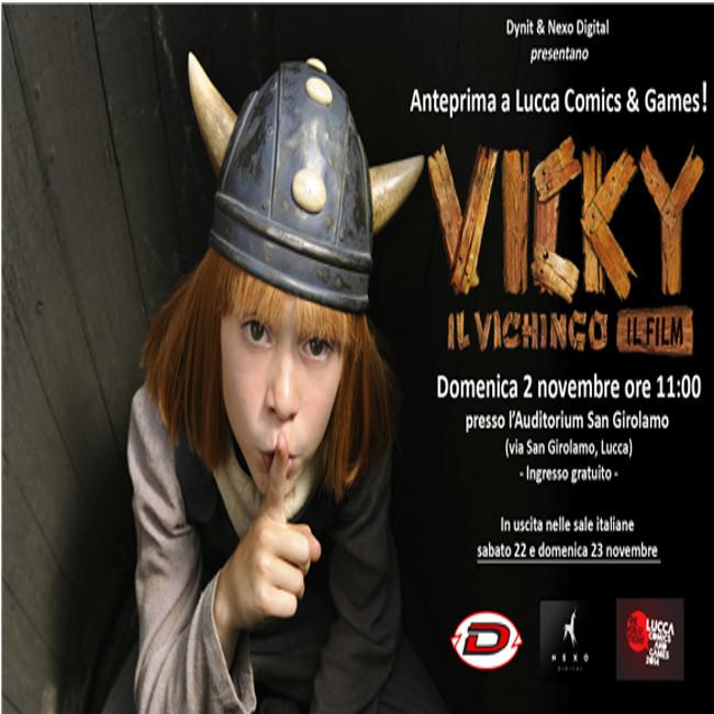Vicky il vichingo in anteprima al Lucca Comics & Games