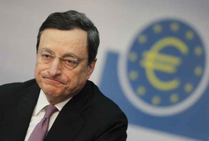 "Deflazione, Draghi: ""Situazione sempre più difficile"""