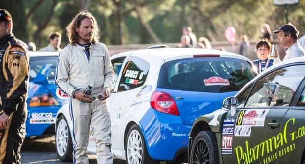 Emanuele Garosci muore durante il Rally di Roma