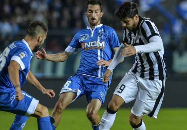 La Juventus torna alla vittoria battendo per 2-0  l'Empoli