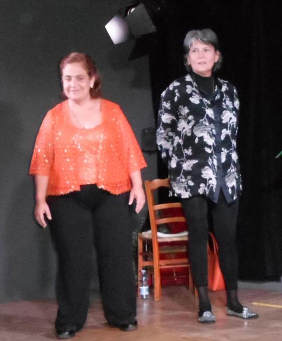 """Nunzia Schiano e Myriam Lattanzio, in """"Femmene"""", al Nuovo Teatro S. Carluccio di Napoli"""