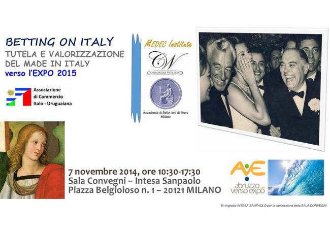 """Grande Successo dell'evento """"Betting On Italy"""" (BOI) a Milano diretto da Marco Eugenio Di Giandomenico"""