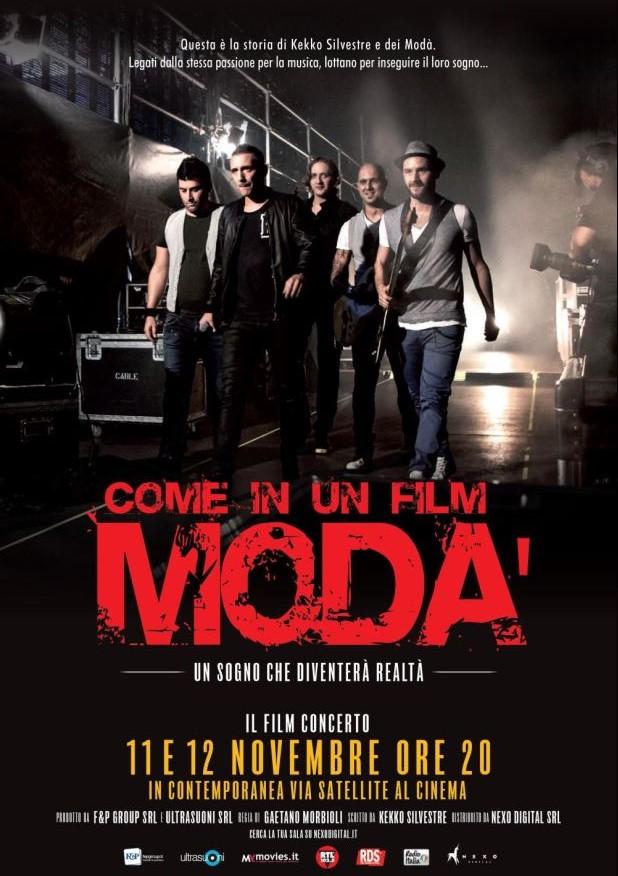 I Modà per la prima volta al cinema. Un sogno che diventerà realtà.