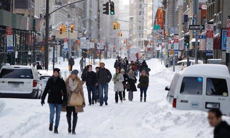 Stati Uniti: 8 morti in una tempesta di neve